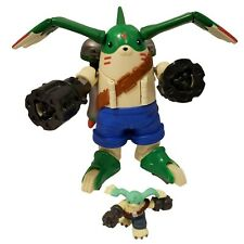 Digimon Gargomon Rapidmon Digivolving Figure With Mini Rare Bandai 2001