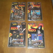 1997 KISS JOHNNY LIGHTNING CAR SET - SIMMONS - FREHLEY - CRISS - STANLEY