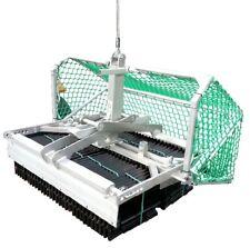 Dachziegelzange 2-reihig Ziegelzange Aluminium Ziegelgreifer Tonziegel