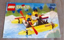 Bauplan LEGO 6665 Bauanleitung Instructions River Runners Floß Rafting