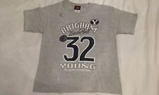 Jimmer Fredette #32 BYU Cougars Basketball Gray Youth T-shirt Small New NWOT