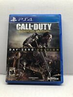 Call of Duty: Advanced Warfare Day Zero Edition (PlayStation 4, 2014) TESTED