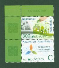 Kasachstan Kazakhstan 2016 - Europa CEPT - think green - 966-67 - Auflage 7500