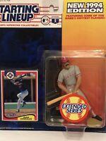 1994 Juan Gonzalez starting lineup Baseball figure toy Texas Rangers Puerto Rico