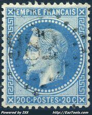 FRANCE EMPIRE N° 29 OBLITÉRATION GC 982 CHAUMONT SUR THARONNE LOIR ET CHER