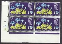 1964 Botanical 3d Ord Cylinder 3A1B1C No Dot - UNMOUNTED MINT/MNH