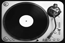 SUPERB RETRO VINYL TURNTABLE CANVAS #405 QUALITY FRAMED WALL ART PICTURE A1