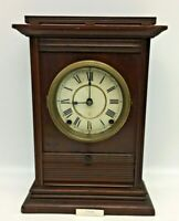 "Rare Seth Thomas ""Toledo"" Mantle Clock-8 Day Time & Strike-Early 1900's"