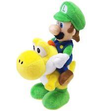 Super Mario Bros - Luigi and Yoshi Plush Cuddly Set - 22cms - NEW