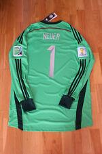 Manuel Neuer Trikot #1 DFB Deutschland WM 2014 Adidas Größe L Weihnachtsgeschenk