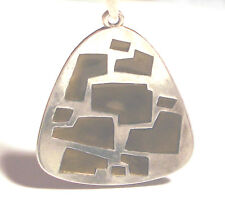 Mid Century 60's MODERNIST Ster 925 DAVID ANDERSEN Enamel NECKLACE Norway Design