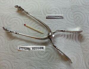 W&S Sorensen - 925 Sterling Silber - Patricia - Eiszange 15,7 cm