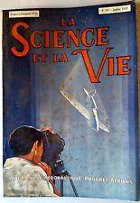 Science et vie n°247 du 1/1938; Laboratoire Aéronautique; Progrès Aèriens