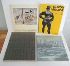 Lot of 4 ART BOOKS, Treasures from Japan, Monet, Gaston Lachaise, MOMA Soby