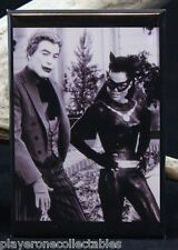 "Eartha Kitt ""Catwoman and The Joker"" B & W Photo - 2"" X 3"" Fridge Magnet. Batman"