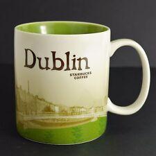 STARBUCKS COFFEE DUBLIN IRELAND Coffee Mug 16 oz 2010 Ha'Penny Bridge Eire River