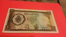 Libya 10 pound about VF