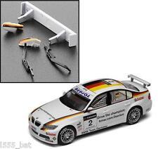 NUOVO Scalextric w9851 BMW 320si SPOILER ALETTONE POSTERIORE, Specchi & Tergicristalli per (c3020)