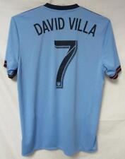 2b032f846 New York City FC David Villa Sanchez  7 Men s Size Medium Adidas Jersey A1  583