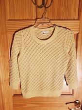 Banana Republic Women  Yellow Knit Sweater Size Large