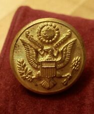 Gen Staff Military Uniform Coat Button H.V. Allien & Co Us Great Seal Eagle 3/4""