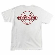 Independent Trucks Baseplate B/C Skateboard T Shirt White Medium