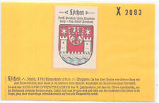Reklamemarke Wappen von Lychen Brandenburg um 1925 (B557)