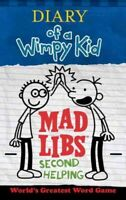 Diary of a Wimpy Kid Mad Libs : Second Helping, Paperback by Kinney, Patrick,...