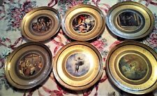 Vatican Museum Plates Complete Set of 6 ~Limited Editions~Numberd Franklin Mint