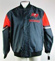 Tampa Bay Buccaneers NFL Men's G-III Navy Blue & Red Plus Size Jacket