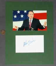 Arkansas 2008 Presidential Candidate Mike Huckabee signed autograph/photo set!*