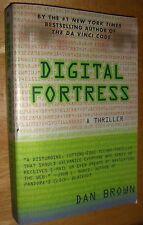 Digital Fortress by Dan Brown Author of the  Da Vinci Code SC 1998