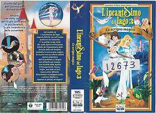 L'INCANTESIMO DEL LAGO 3 - LO SCRIGNO MAGICO (1998) vhs ex noleggio