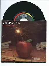"1984 38 SPECIAL ""TEACHER TEACHER"" W/PIC SLEEVE 45rpm 7"""