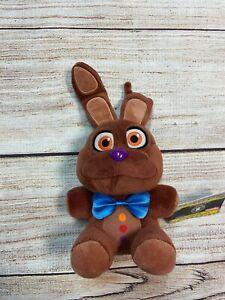 "Five Nights At Freddy's Chocolate Bonnie Plush NWT Funko Easter FNAF 8"""