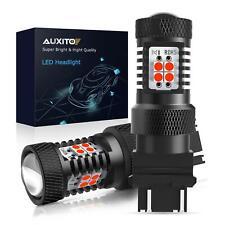 2X 3157 3156 3057 4057 Brake stop Tail Light Bulb Super Red LED 14K For GMC EDO