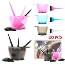Styling Tools Hair Dye Brush Hair Coloring Set Ear Caps Mix Tint Bowl