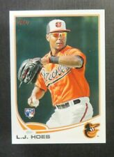 2013 Topps, Baltimore Orioles - L.J. HOES (RC)