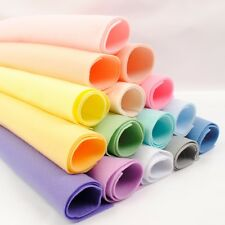 Colour Collections - Soft Polyester Felt - 15 Sheets - Great Quality Craft Felt
