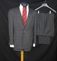 Ermenegildo Zegna Taglio Esclusivo 15 milmil 15 Mens Suit Wool 48IT 38US/UK Gray