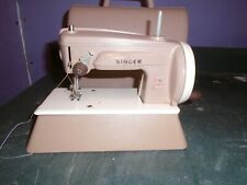 Vintage Singer Sewhandy Child'S Toy Sewing Machine Great Britain In Case
