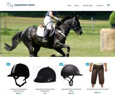 Equestrian Store Turnkey Website BUSINESS For Sale - Profitable DropShipping