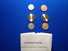 More details for kangaroo coin set by eddie gibson.