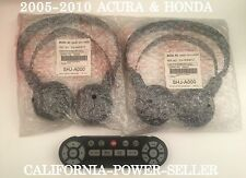 2005-2010 Acura MDX & Honda Pilot Odyssey OEM Wireless Headphones & DVD Remote