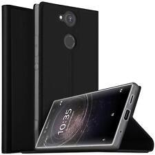 Handy Hülle Sony Xperia XA2 Ultra Book Case Schutzhülle Tasche Slim Flip Cover