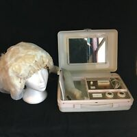 VTG Montgomery Ward Signature Portable Bonnet Blow Dryer Power Manicure Center