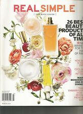 REAL SIMPLE, MARCH 2014 (26 BEST BEAUTY PRODUCTS OF ALL TIME)