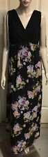 Target Two Tone Maxi Sz 14 With Sheer Overlay Fully Lined