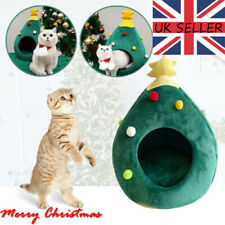 Christmas Tree Kennel Winter Warm Small Dog Cat Litter Washable Pet Supplies IM