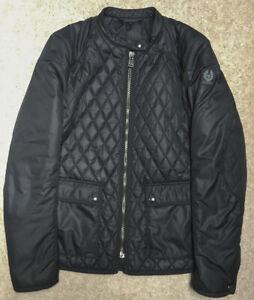 Womens Belstaff Black Randall Quilted Jacket - UK 14
